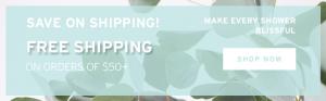 eucalyptus shower spray home free shipping everyday