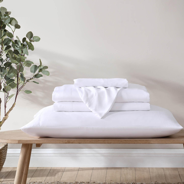 sustainably made eucalyptus bed sheets